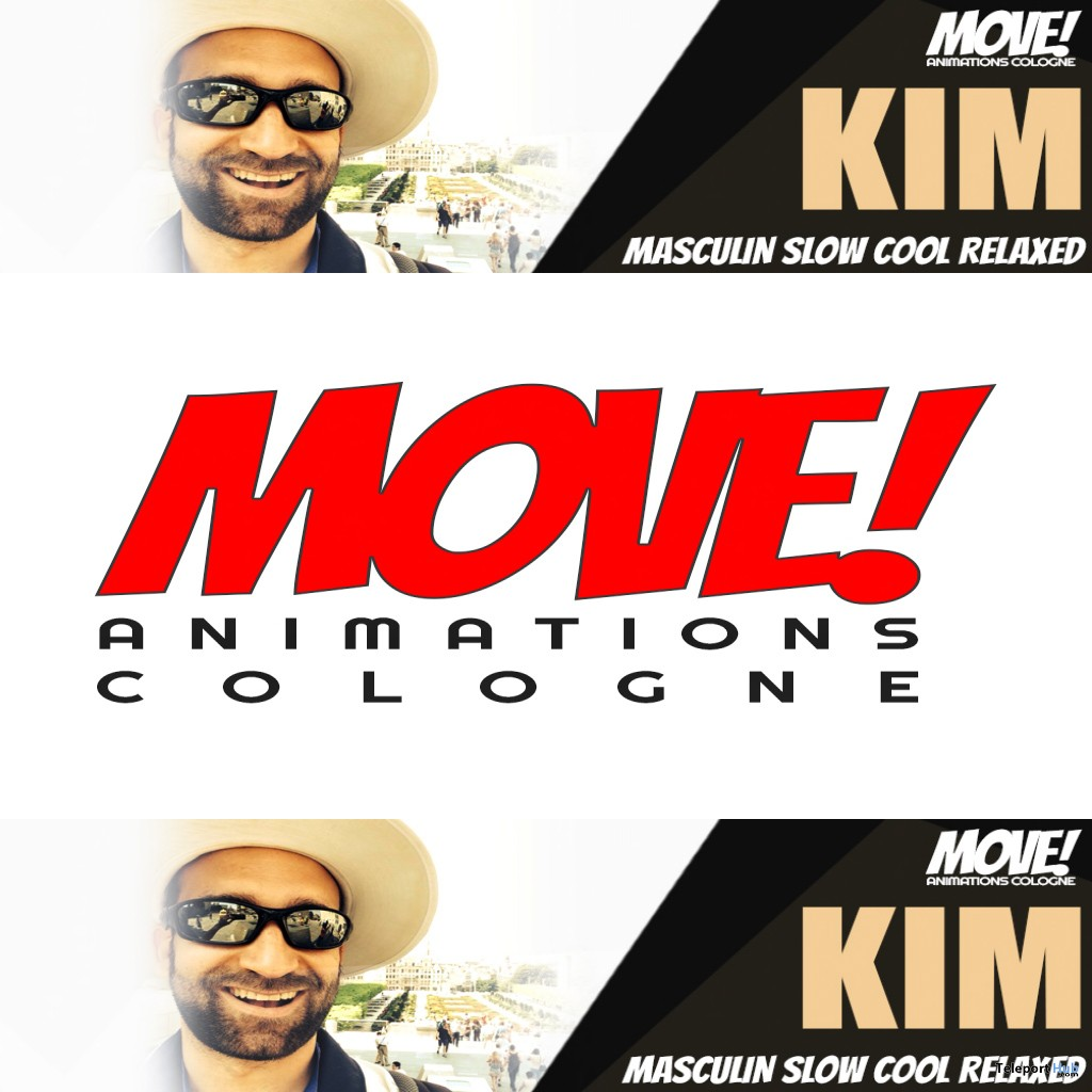 New Release: Kim Dance Pack by MOVE! Animations Cologne - Teleport Hub - teleporthub.com