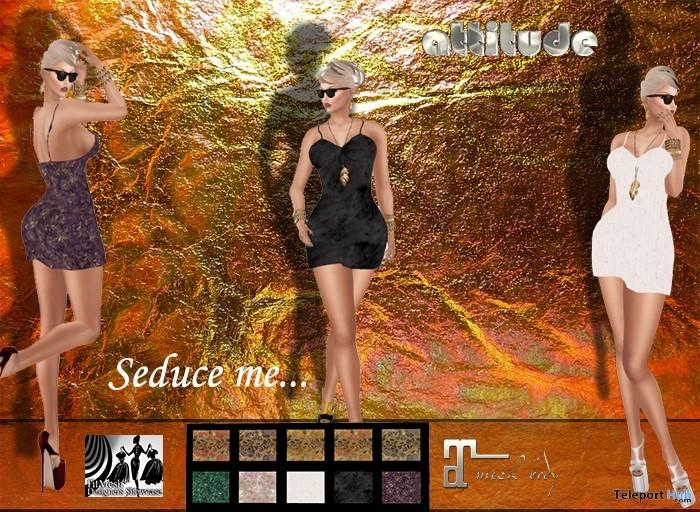 Seduce Me Dress 99L Promo by Attitude Design - Teleport Hub - teleporthub.com