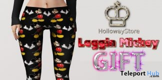 Mickey Classic Omega Applier Leggings Gift by Holloway Store - Teleport Hub - teleporthub.com