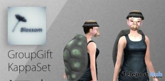 Kappa Set Turtle Avatar Group Gift by Blossom - Teleport Hub - teleporthub.com