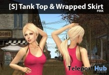 New Release: [S] Tank Top & Wrapped Skirt by [satus Inc] - Teleport Hub - teleporthub.com