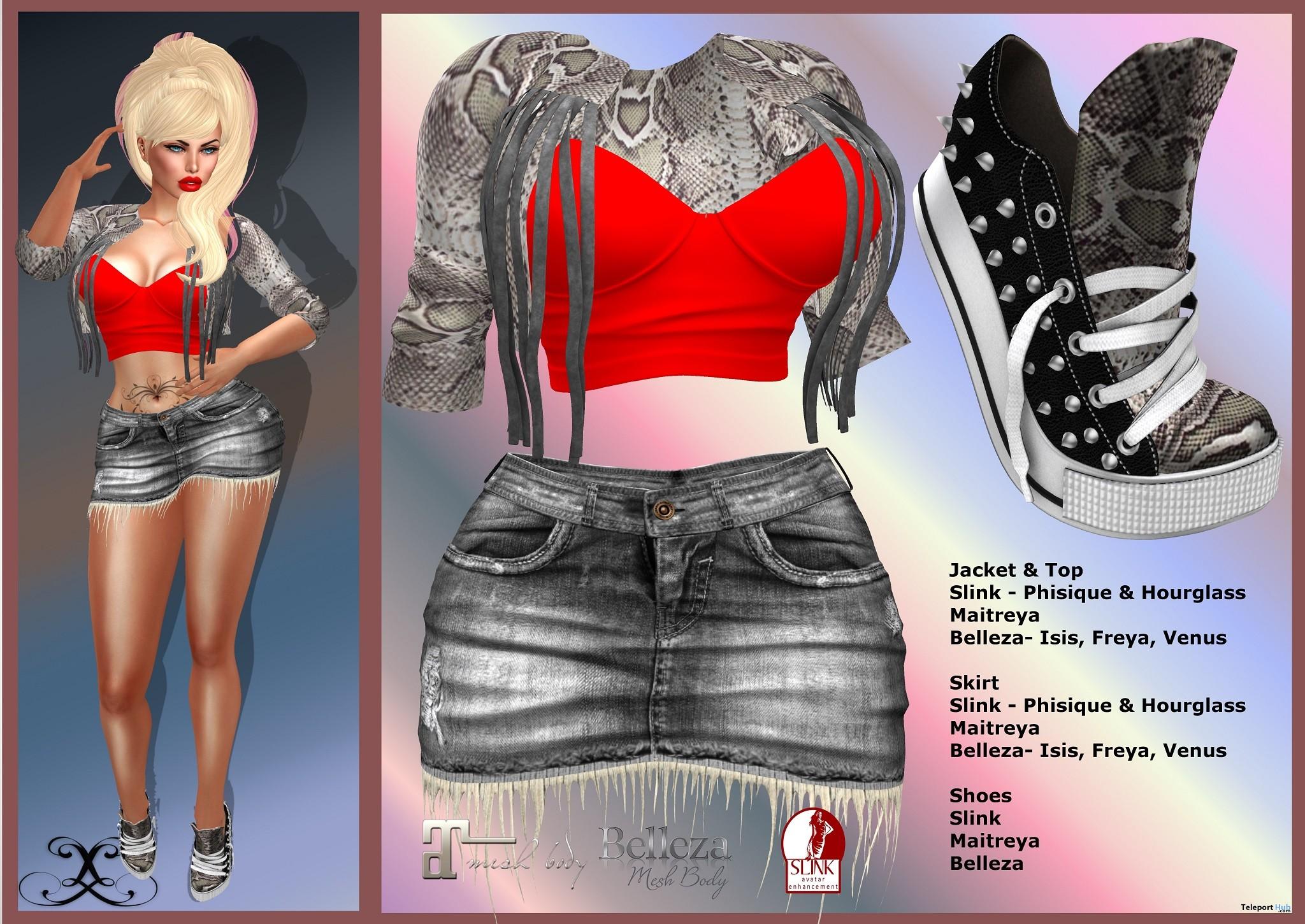 Natasha Outfit V3 99L Promo by Le'La Design - Teleport Hub - teleporthub.com