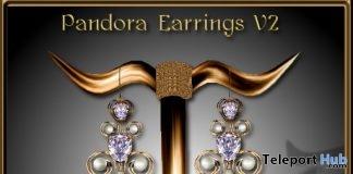 Pandora Earrings V2 10 Years Anniversary Subscriber Gift by Zuri Jewelry - Teleport Hub - teleporthub.com