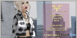 Yuki Outfit December 2016 Group Gift by FA CREATIONS - Teleport Hub - teleporthub.com