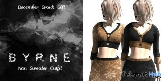Nan Sweater Outfit December 2016 Group Gift by BYRNE Boutique - Teleport Hub - teleporthub.com