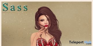 Lingerie with Omega Applier December 2016 Group Gift by Sass - Teleport Hub - teleporthub.com