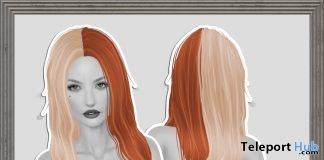 Belinda Hair December 2016 Group Gift by KoKoLoReS - Teleport Hub - teleporthub.com