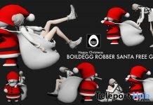 Robber Santa Christmas Gift by BOILDEGG - Teleport Hub - teleporthub.com