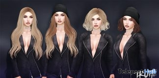 Two Sets of Hair With Beanie Options December 2016 VIP Group Gift by TRUTH HAIR - Teleport Hub - teleporthub.com