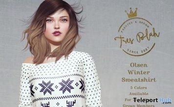 Olsen Winter Sweatshirt Group Gift by Tres Blah - Teleport Hub - teleporthub.com