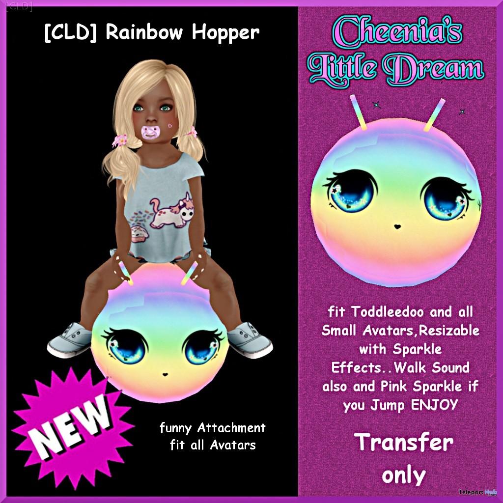 Rainbow Hopper Group Gift by Cheenia's Little Dream - Teleport Hub - teleporthub.com