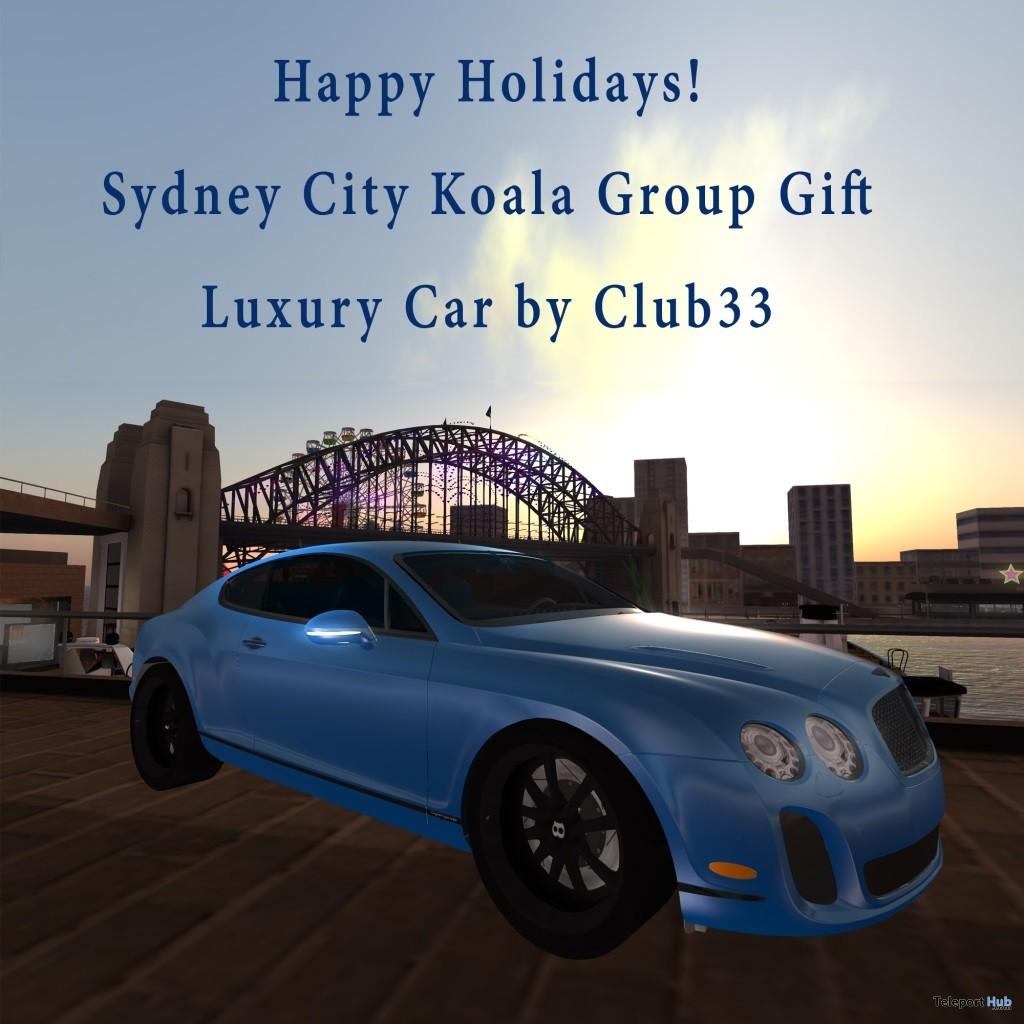 Super Sport Bentley Car Sydney City Group Gift by RaC - Teleport Hub - teleporthub.com