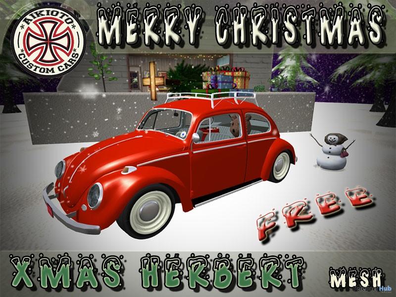 Xmas Herbert Car Gift by AIKIOTO - Teleport Hub - teleporthub.com