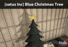 New Release: Blue Christmas Tree by [satus Inc] - Teleport Hub - teleporthub.com