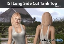 New Release: [S] Long Side Cute Tank Top by [satus Inc] - Teleport Hub - teleporthub.com
