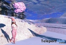 Pink Snow To Go Cloud For Female Gift by June Trenkins - Teleport Hub - teleporthub.com
