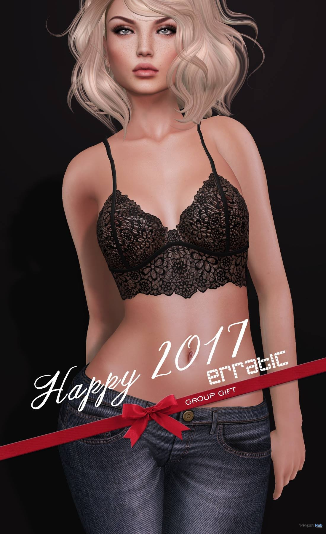 Bralette 8 Colors For Maitreya Mesh Body Holiday 2017 Group Gift by erratic - Teleport Hub - teleporthub.com