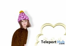 Mon Bonnet Dress January 2017 Group Gift by NuDoLu - Teleport Hub - teleporthub.com