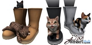 Kitten Booties Group Gift by JIAN - Teleport Hub - teleporthub.com