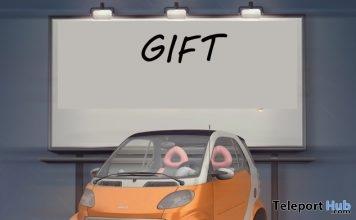 Smart Car Gift by Richard Kruspe - Teleport Hub - teleporthub.com