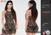 Jessica Lacy Short Dress With Panties 1L Promo Gift by M&M - Teleport Hub - teleporthub.com
