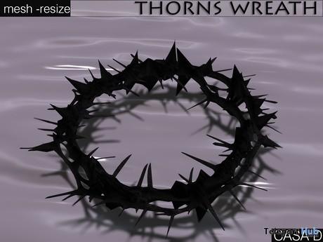 Thorns Wreath Gift by roOC Nexen's Casa Diabolica - Teleport Hub - teleporthub.com