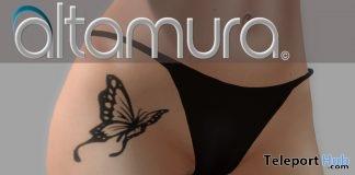 Butterfly Tattoo January 2017 Group Gift by Altamura - Teleport Hub - teleporthub.com