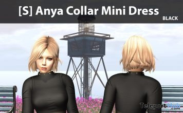 New Release: [S] Anya Collar Mini Dress by [satus Inc] - Teleport Hub - teleporthub.com