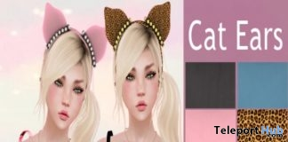 Cat Ears Group Gift by Fiorella - Teleport Hub - teleporthub.com