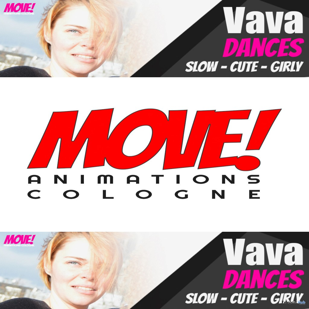 New Release: Vava Dance Pack by MOVE! Animations Cologne - Teleport Hub - teleporthub.com