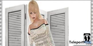 Mini Dress Newspaper Group Gift by *Arcane Spellcaster* Ak-Creations - Teleport Hub - teleporthub.com