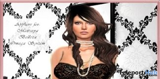 Camy Corset With Body Appliers Group Gift by LA PERLA - Teleport Hub - teleporthub.com
