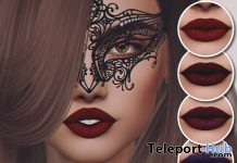 Lipsticks for Catwa Heads Group Gift by CHAIN - Teleport Hub - teleporthub.com