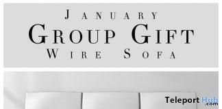 Wire Sofa Group Gift by Fancy Decor - Teleport Hub - teleporthub.com