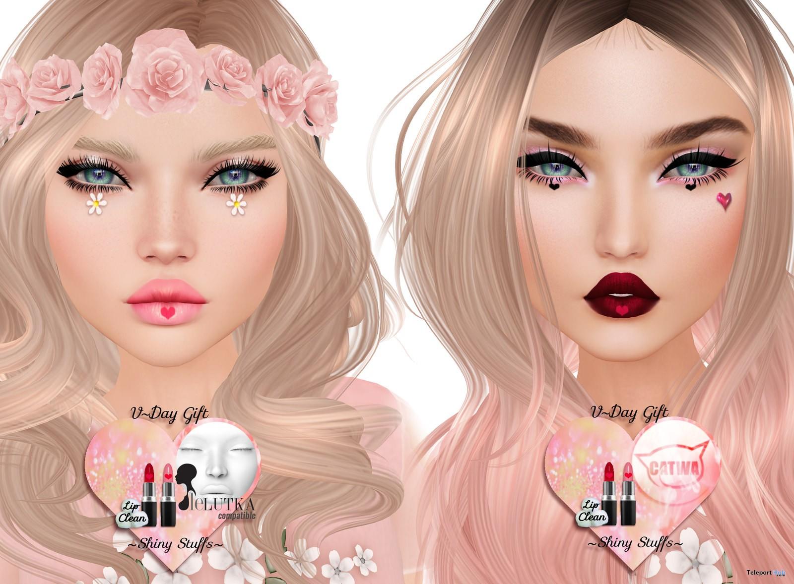 Lip Appliers 2 Colors Valentine 2017 Gift by Shiny Stuffs - Teleport Hub - teleporthub.com