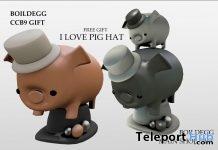 I Love Pig Hat Gift by BOILDEGG - Teleport Hub - teleporthub.com