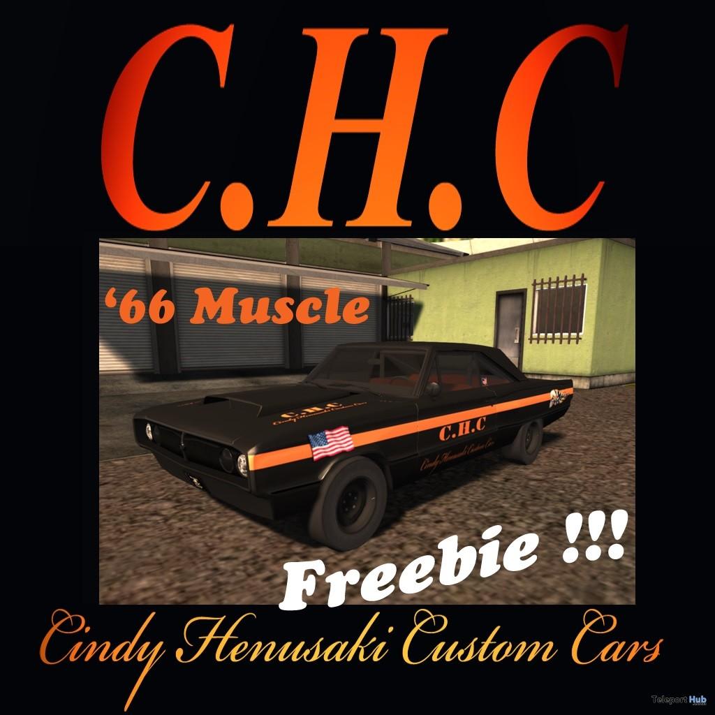 '66 Muscle Car Gift by Cindy Henusaki Custom Cars - Teleport Hub - teleporthub.com