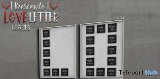 Loveletters Frame Group Gift by [Krescendo] - Teleport Hub - teleporthub.com