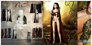 New Release: Morgana Cloak & Pauldrons Gacha by Noble Creations - Teleport Hub - teleporthub.com