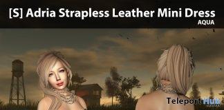 New Release: [S] Adria Strapless Leather Mini Dress by [satus Inc] - Teleport Hub - teleporthub.com