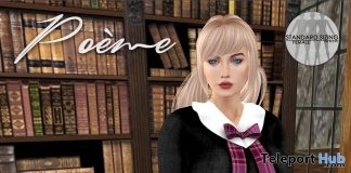Emily Pink Plaid School Dress Group Gift by Poeme - Teleport Hub - teleporthub.com