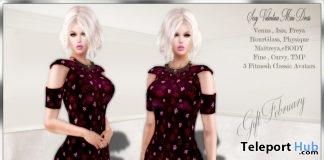 Sexy Valentine Mini Dress Group Gift by LsR - Teleport Hub - teleporthub.com