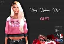 High Glam Women's Day Sweater Group Gift by Hilly Haalan - Teleport Hub - teleporthub.com