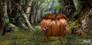 New Release: Cinderella Pumkin Chair by Noble Creations - Teleport Hub - teleporthub.com
