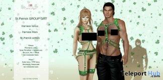Harness Venus & Mars St. Patrick's Day Group Gift by Salt & Pepper - Teleport Hub - teleporthub.com