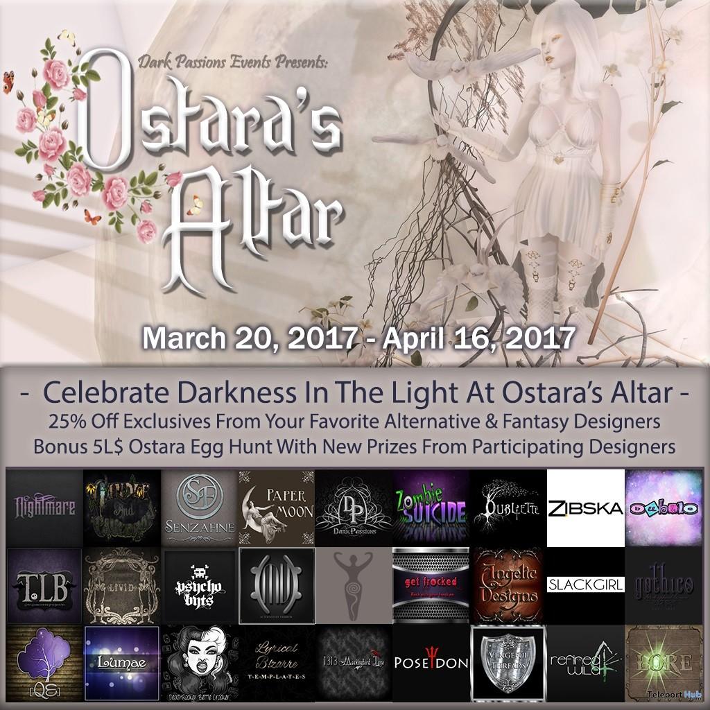 Ostara's Altar Event & Hunt - Teleport Hub - teleporthub.com