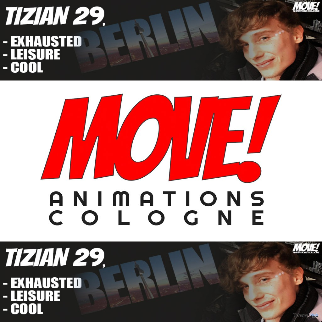 New Release: Tizian Dance Pack by MOVE! Animations Cologne - Teleport Hub - teleporthub.com