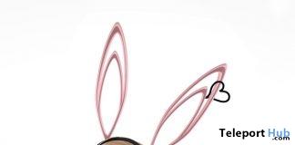 Bunny Headband On9 Event April 2017 Group Gift by AZUL - Teleport Hub - teleporthub.com