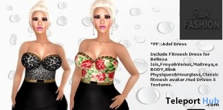 Adel Dress Group Gift by Pearl Fashion - Teleport Hub - teleporthub.com