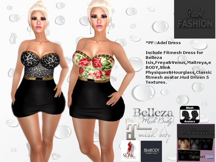 Adel Dress Group Gift by Pearl Fashion - Teleport Hub - teleporthub.com